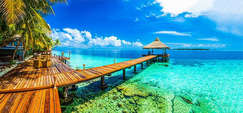 maldives - ponton